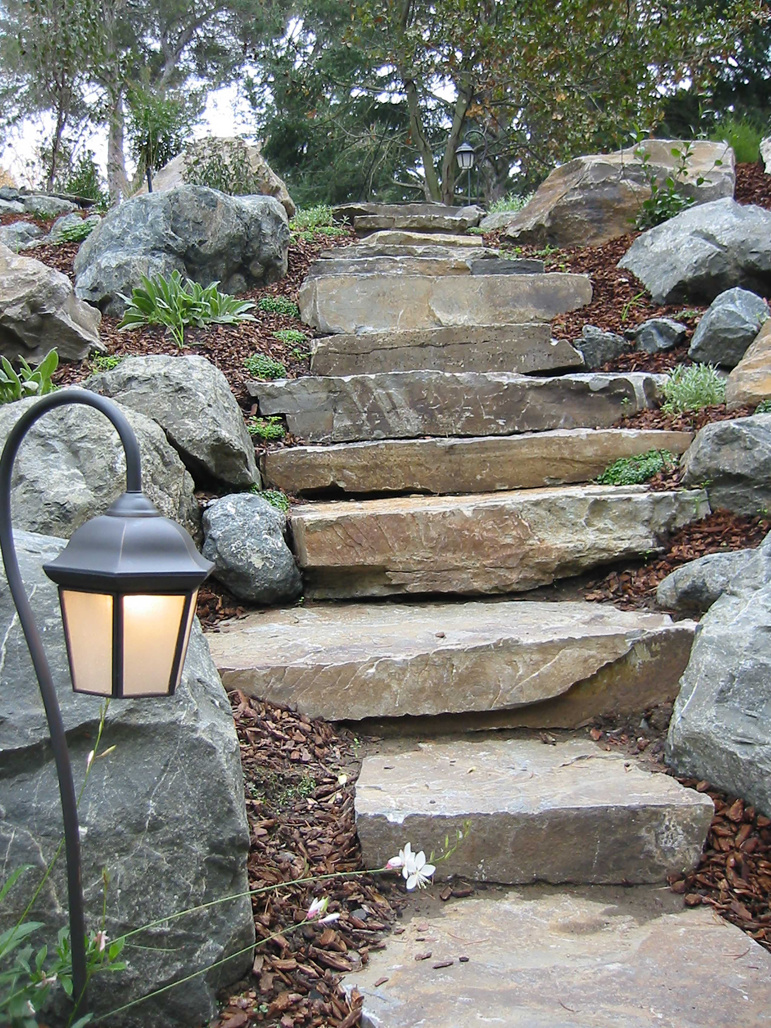 Natural Stone Features, Atherton CA