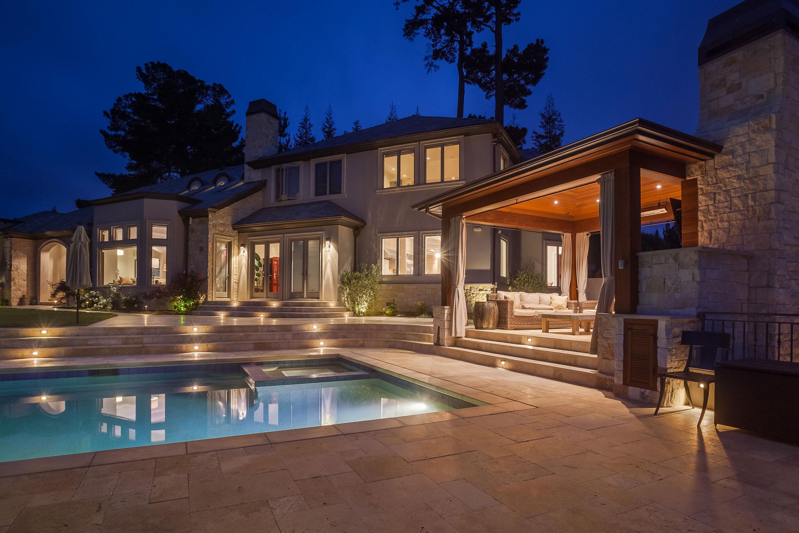 Transitional Hillsborough Estate, Hillsborough CA